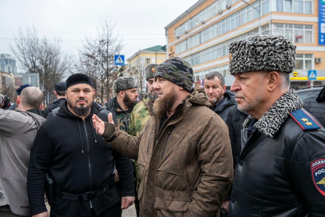 One Police Officer, Two Attackers Killed In Knife Attack In Chechnya's Grozny
