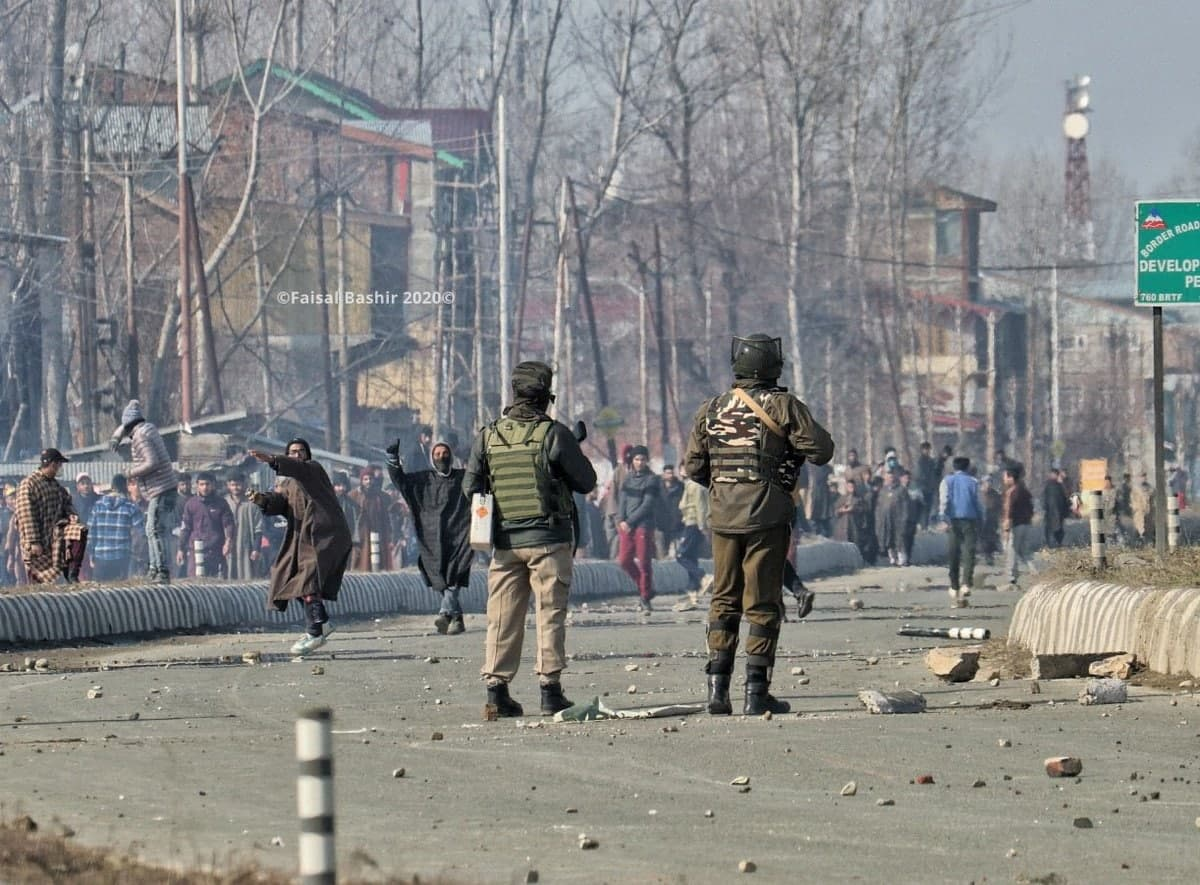 Counter-Terrorism Operation By India Provoked Clashes With Indian Forces