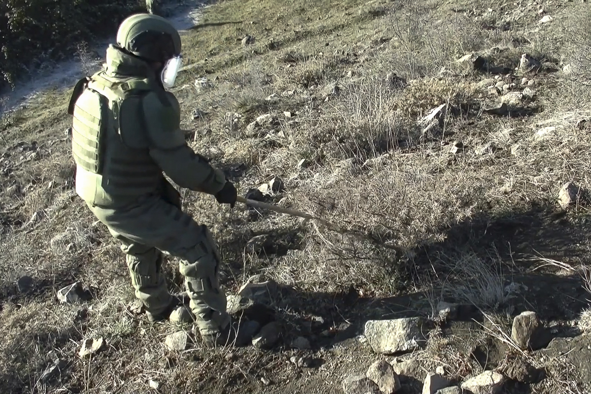Russian Peacekeepers Clear Mines, Provide Medical Assistance, As Azerbaijan Continues Celebrating Its Victory