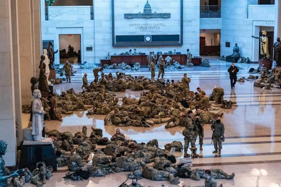 """All Hands On Deck"" - Up To 25,000 National Guard Now Authorized In DC For Biden Inauguration"