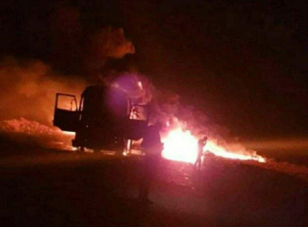 ISIS Cells Ambushed Column At Raqqah-Salamiyah Road In Central Syria