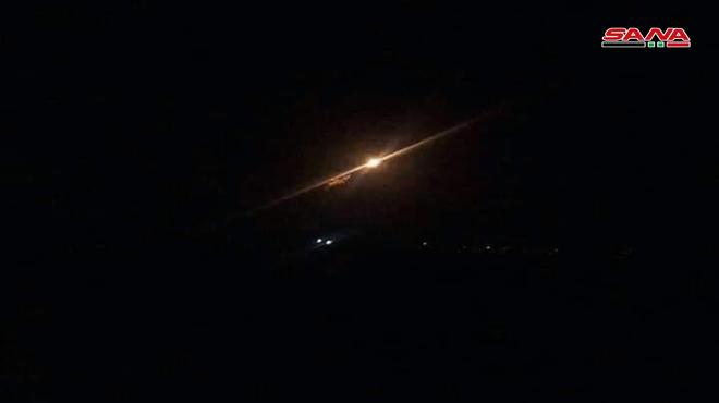 Israeli Warplanes Struck Targets Near Hama City In Central Syria