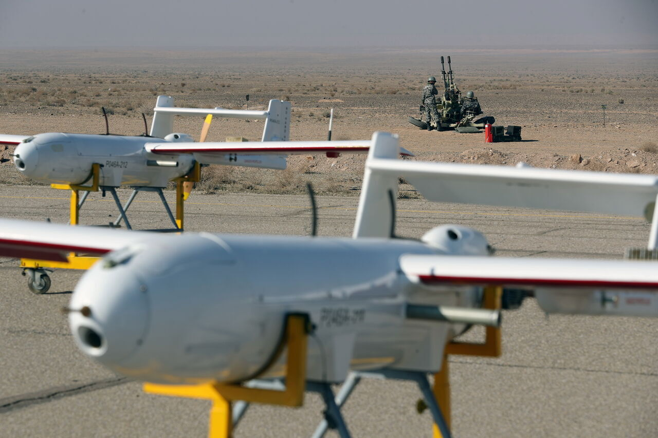 Iran Begins Large-Scale Drone Drill, As USS Nimitz Remains In Persian Gulf
