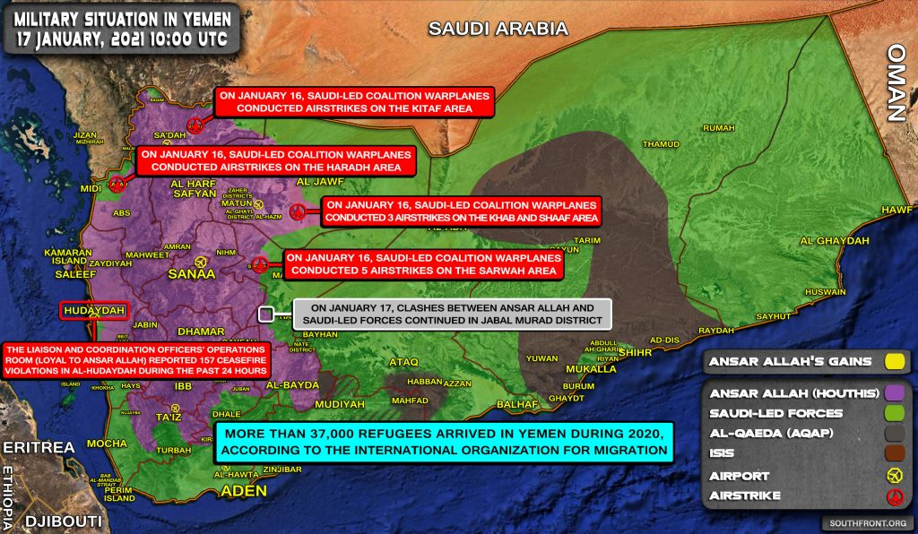 Houthis: Saudi Arabia Cannot Expect To Stay Safe As Long As It Attacks Yemen