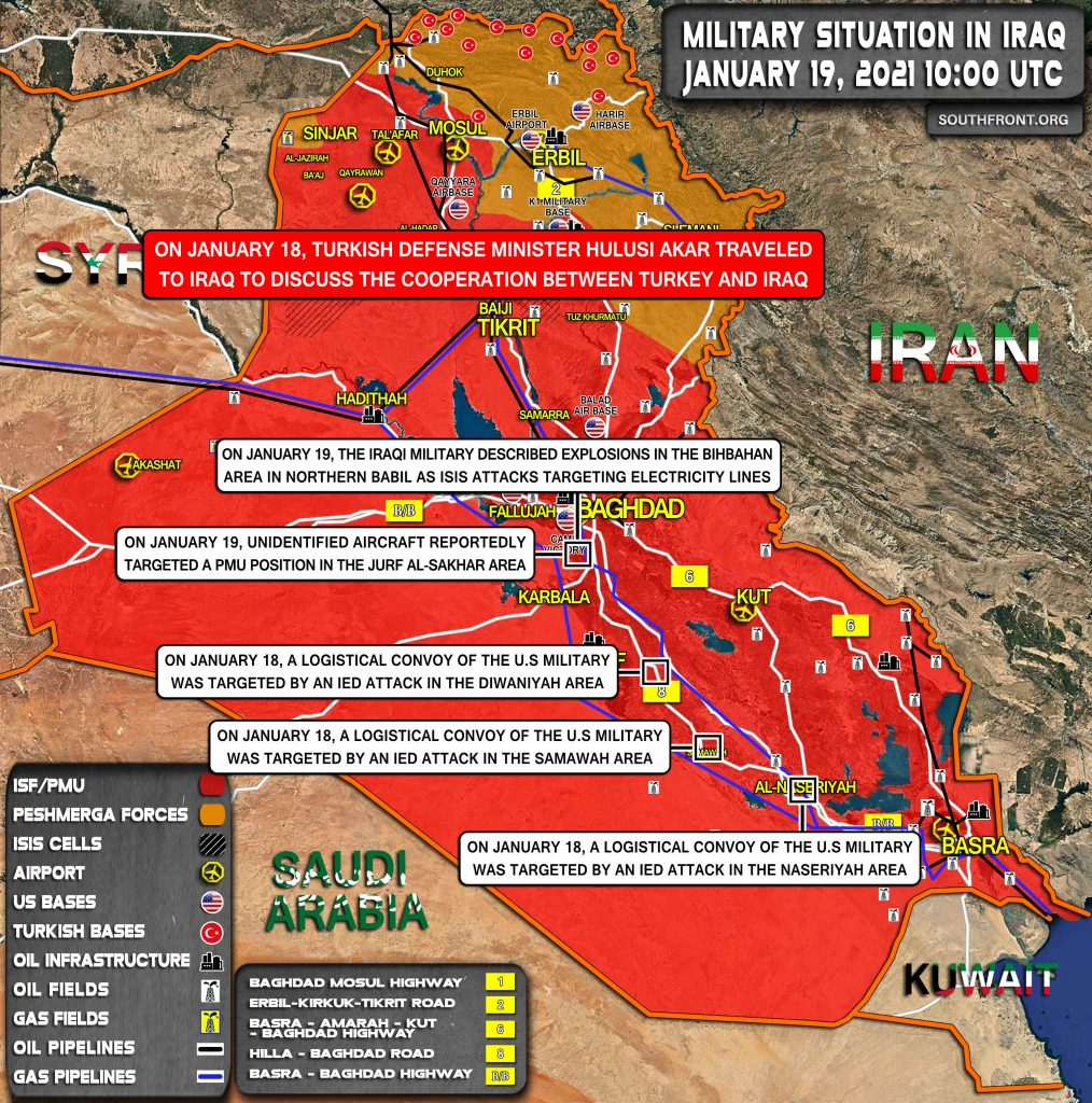 Explosions Rock Positions Of Iranian Allies In Iraq. US Fiercely Denies Its Involvement
