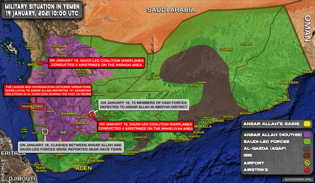 Houthis Vow To Develop Even More 'Deterrence Weapons' To Confront Saudi Arabia And UAE (Map Update)