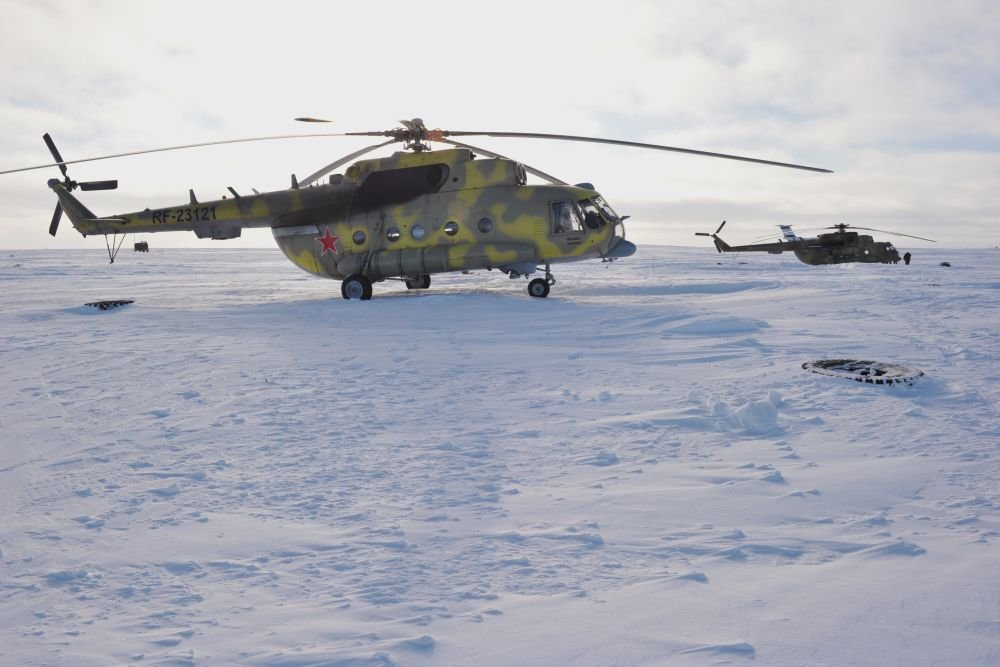 Russia Working On Floating Airfields For Arctic Landings And Takeoffs