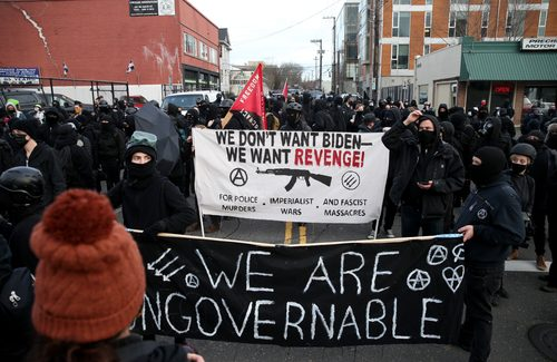 Antifa Riots Throughout, As U.S. Leftists Call For Secret Police To Track Dissidents