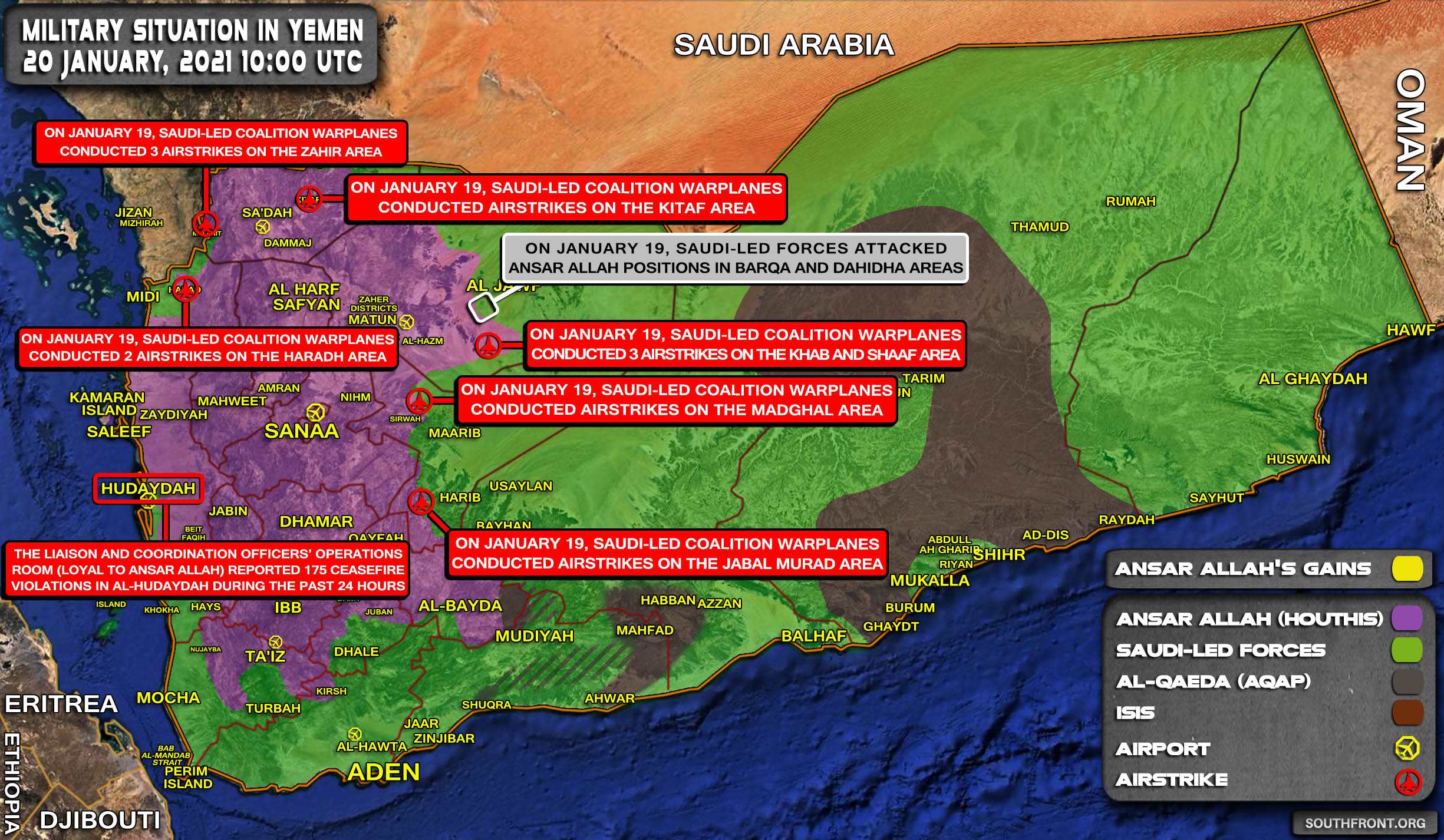 Saudi-Backed Forces Ambushed Houthi Fighters In Yemen's Al-Bayda'