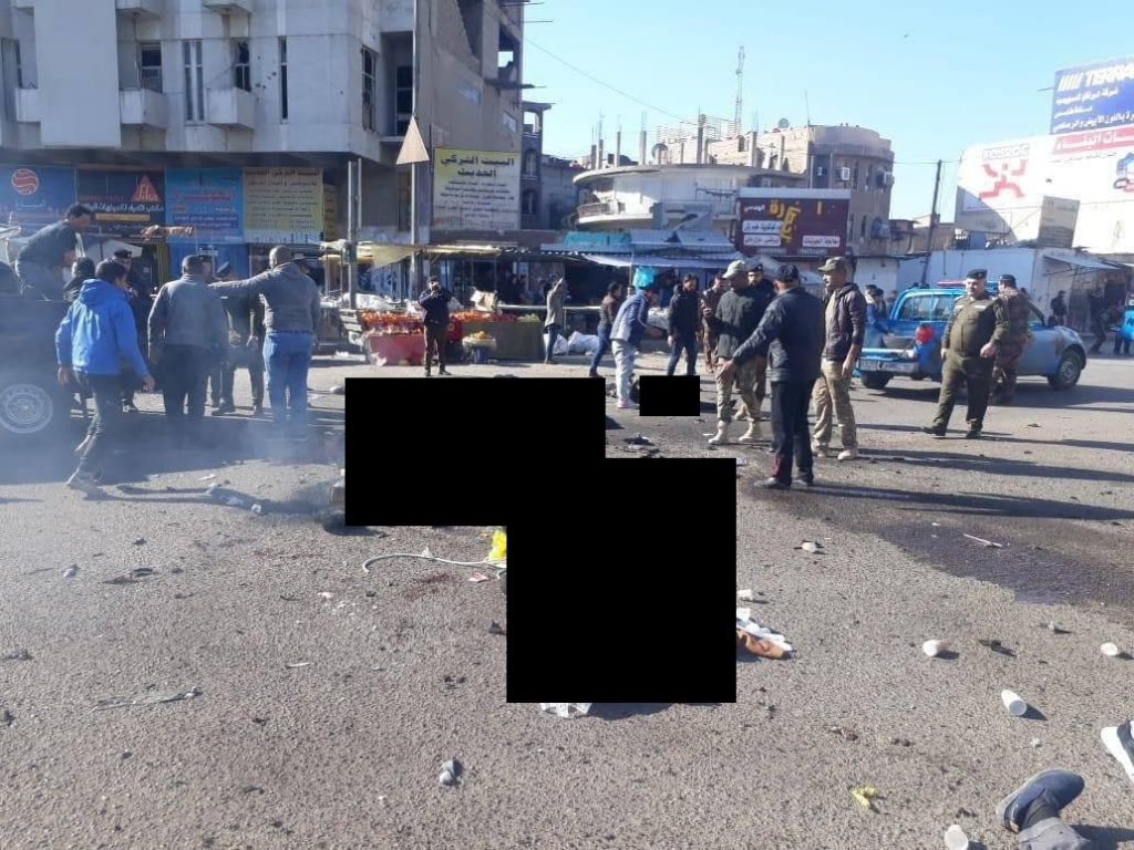 In Videos: Twin Suicide Bombing Killed Multiple People In Baghdad