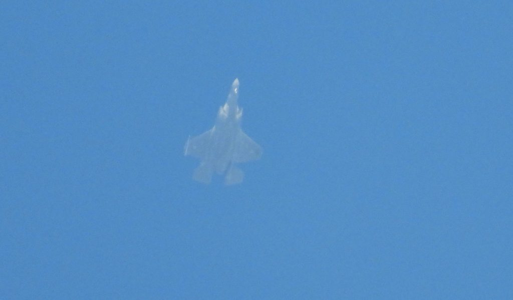 In Photos: Israeli F-35I Jets Spotted In Lebanese Airspace For First Time