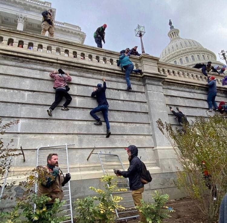 United States Is In Chaos: Trump Supporters Captured Capitol. National Guard Deployed. First Shots Fired