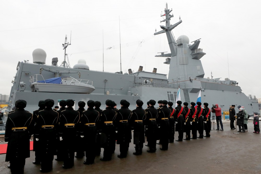 Russian Navy Received Lead Ship Of Gremyashchiy-Class Corvettes (Infographics, Photo, Video)
