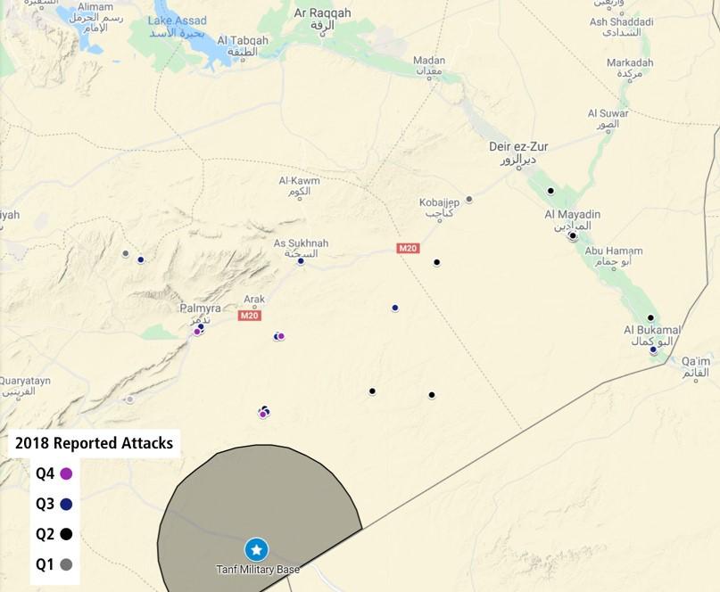 ISIS à Al-Tanf.  Propagande ou réalité?