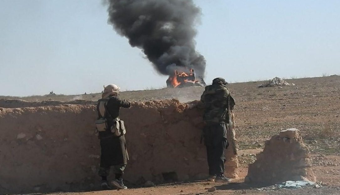 ISIS Cells Ambushed Bus Carrying Syrian Soldiers In Southern Raqqa (Video)