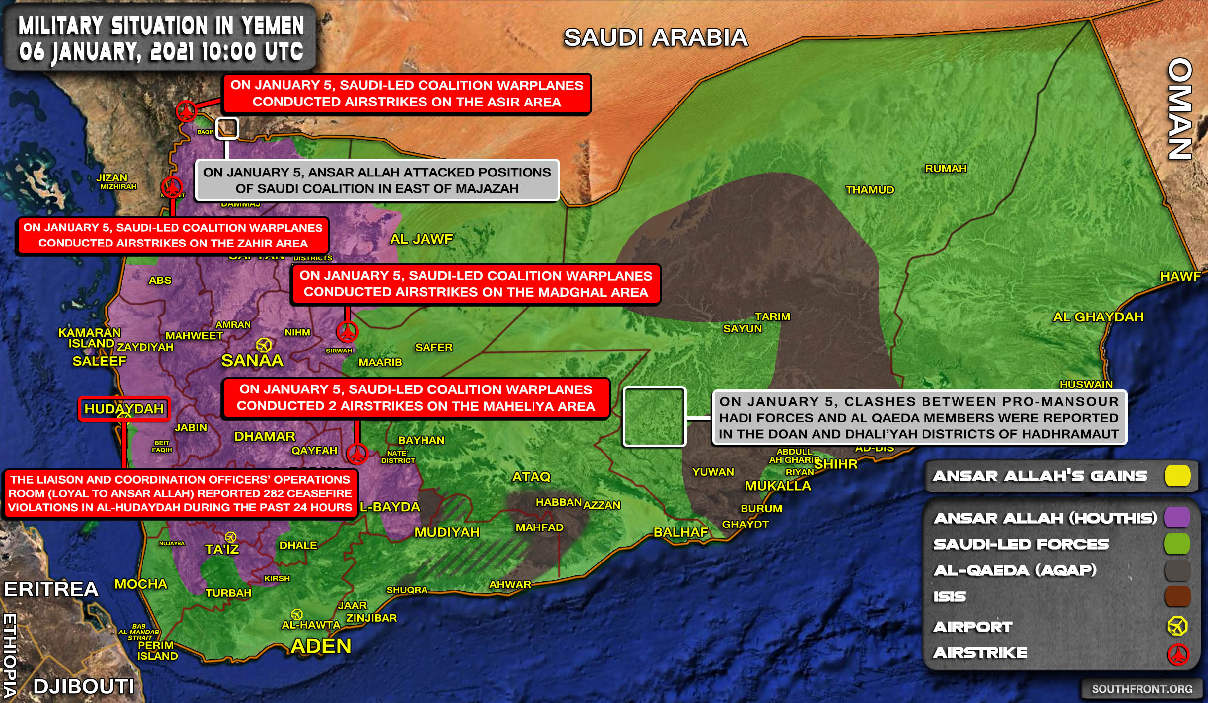 Ansar Allah Releases Detailed Report Of Yemeni War Against Saudi Arabia In 2020