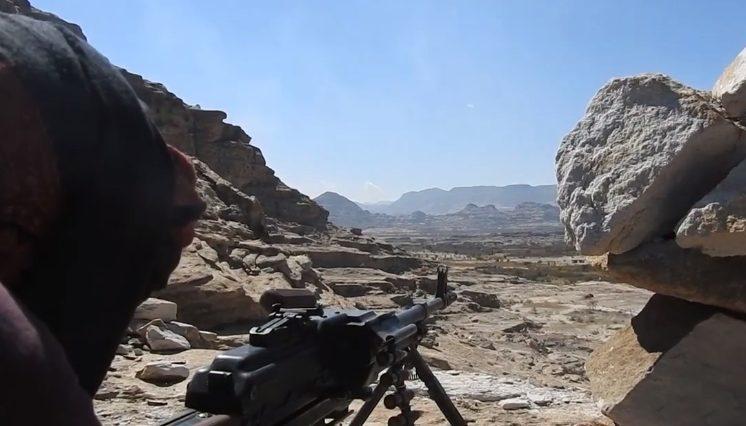 Combat Footage: Saudi-Backed Forces Thwart Houthi Infiltration In Yemen's Saada
