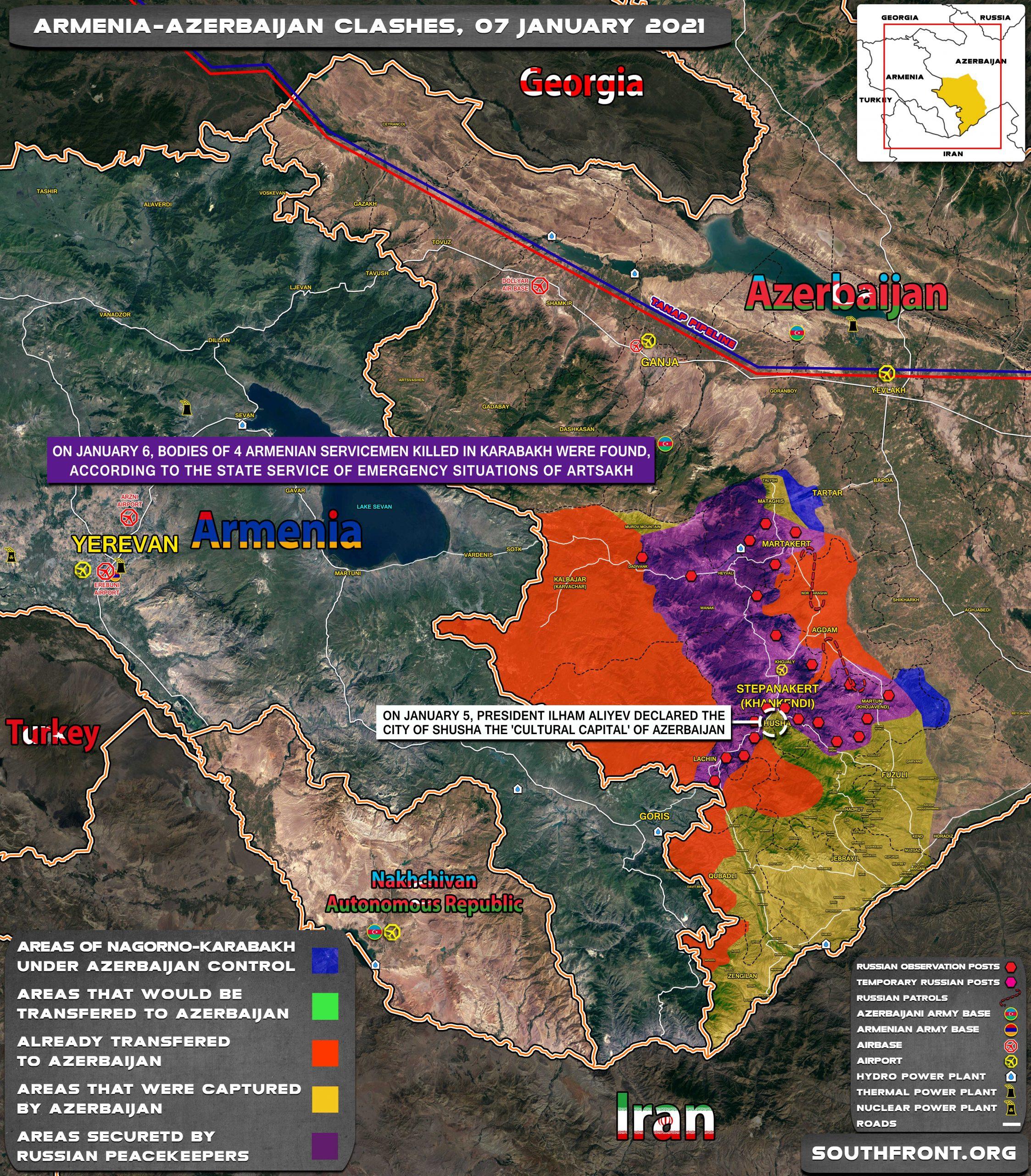 Azerbaijan President Warns Armenian Officials Against Visiting Artsakh Freely