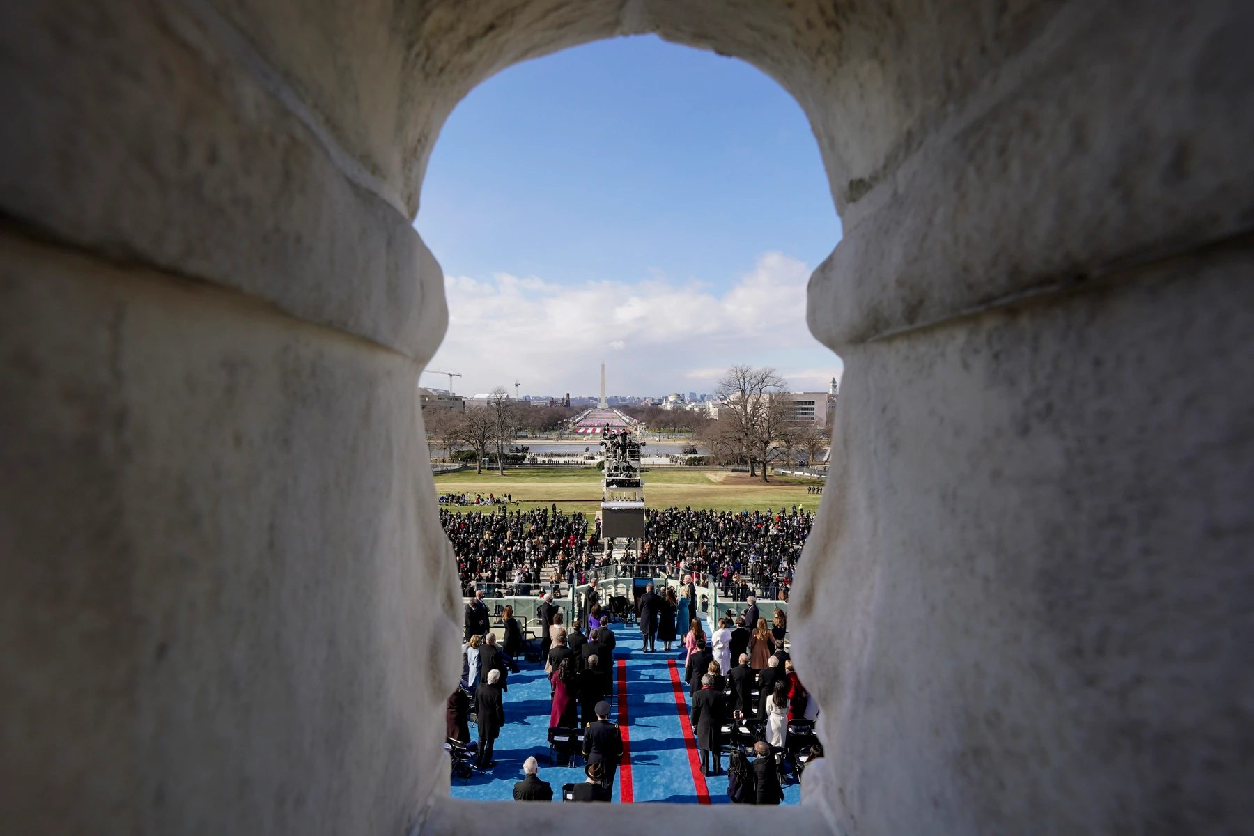 True Democracy Requires A Firm Hand: Inauguration Of Joe Biden, Compared To That Of Trump