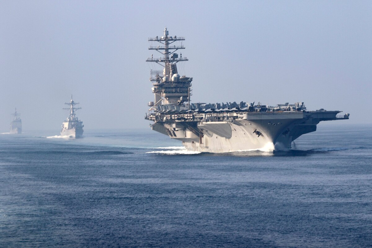 "USS Nimitz Aircraft Carrier Sent Home In Presumed ""De-escalation"" With Iran"