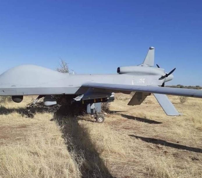 MQ-1C Gray Eagle Of U.S. Africa Command Crash-Landed In Niger
