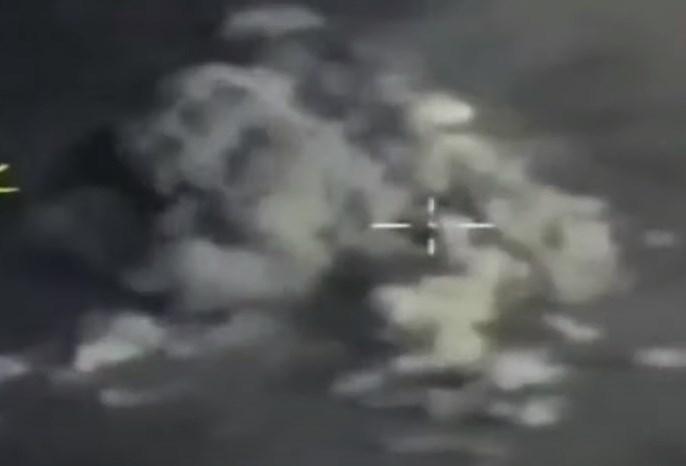 In Video: Russian Warplanes Pound ISIS Targets In Homs-Deir Ezzor Desert