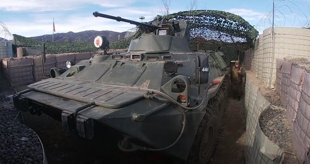 In Videos: Work Of Russian Peacekeepers In Nagorno-Karabakh