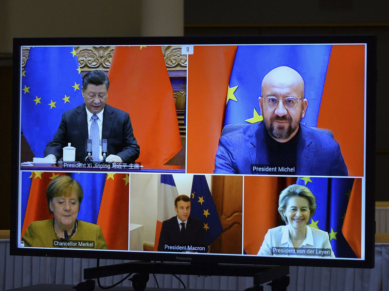 China Advances In Europe As Unipolar World Collapsing Together With United States Political System