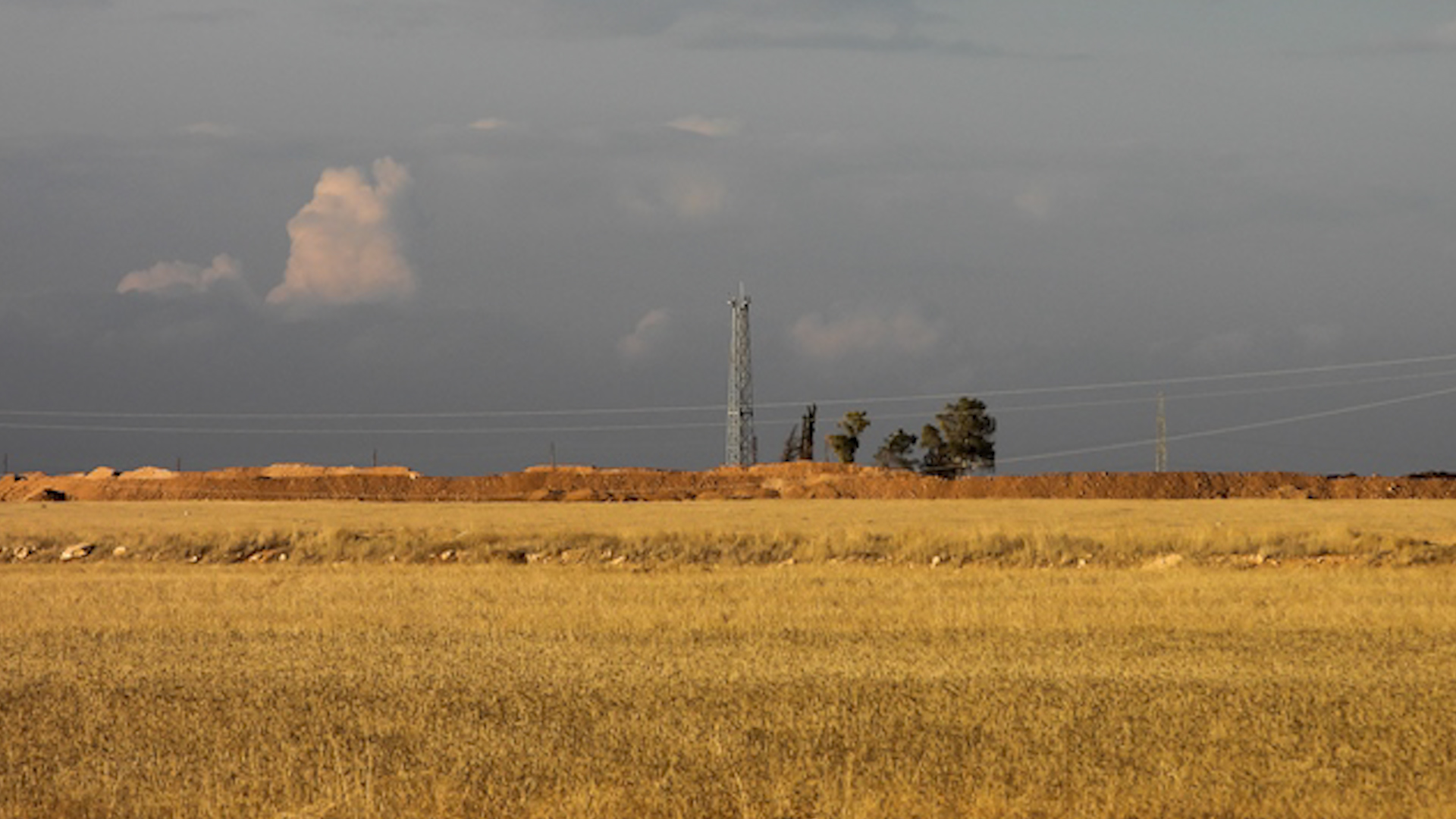 Turkish Forces Built Observation Tower Near SDF-Held Ain Issa In Northeastern Syria
