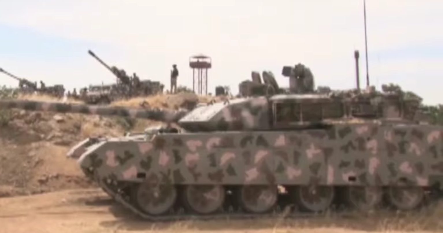 China's VT-4 Main Battle Tank Sees Action For The First Time In Nigeria