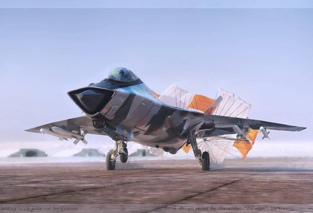 Development Begins On Russia's 6th Generation MiG-41 Advanced Stealth Long-Range Interceptor Fighter