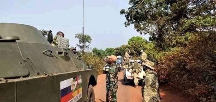Russia Is Considering To Send New Military Advisers To Central African Republic (Map)
