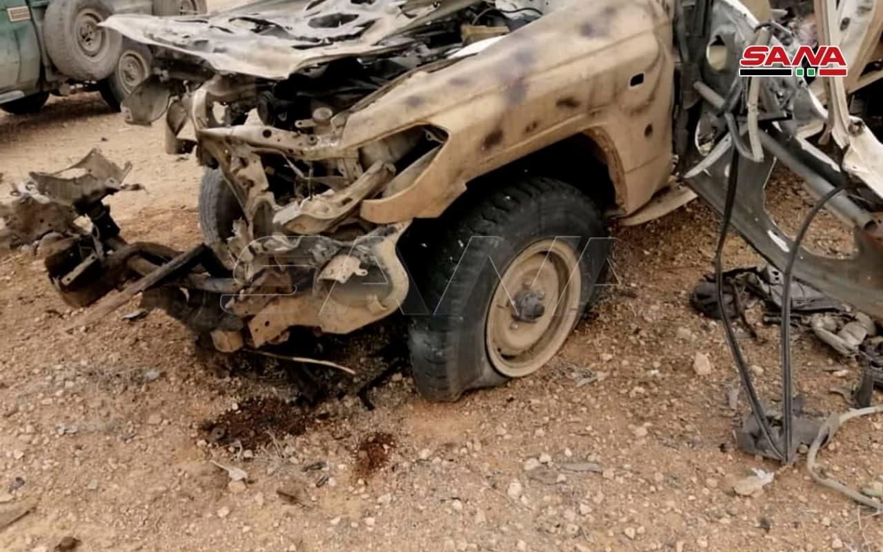 Syrian Army Eliminated Another ISIS Cell Near Homs-Deir Ezzor Highway (Photos)