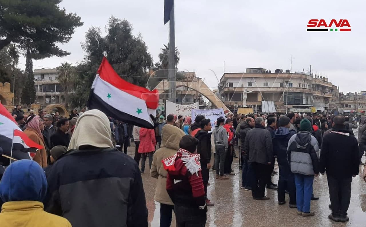 SDF Opened Fire At Pro-Government Protest In Al-Hasakah. Four Civilians Killed Or Injured (Videos)