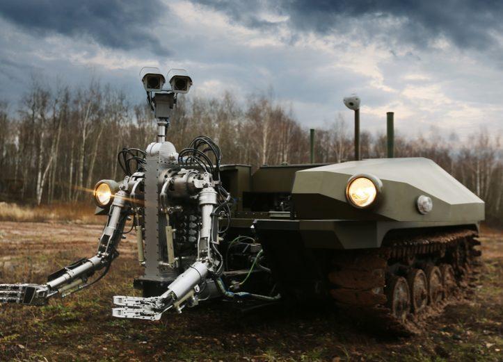 Russia's 'Marker' Robitic Platform Completes 30Km Trek In Autonomous Mode