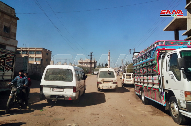 Syrian Army Enters Key Daraa Town Following Recent Reconciliation Agreement (Video, Photos)