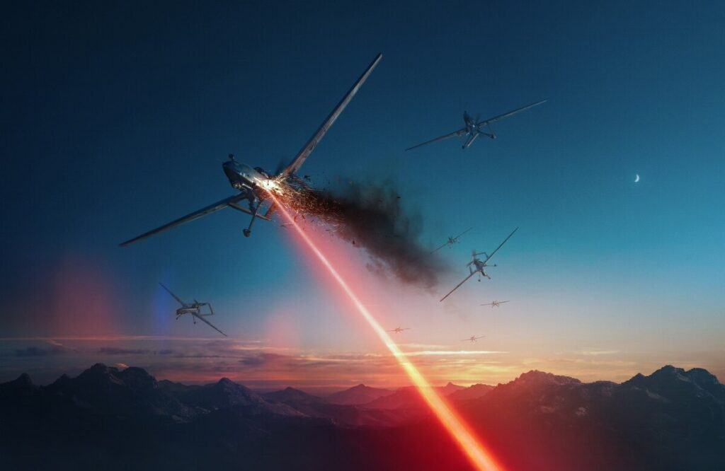 US Military Is Working On Super Laser To Intercept Drones