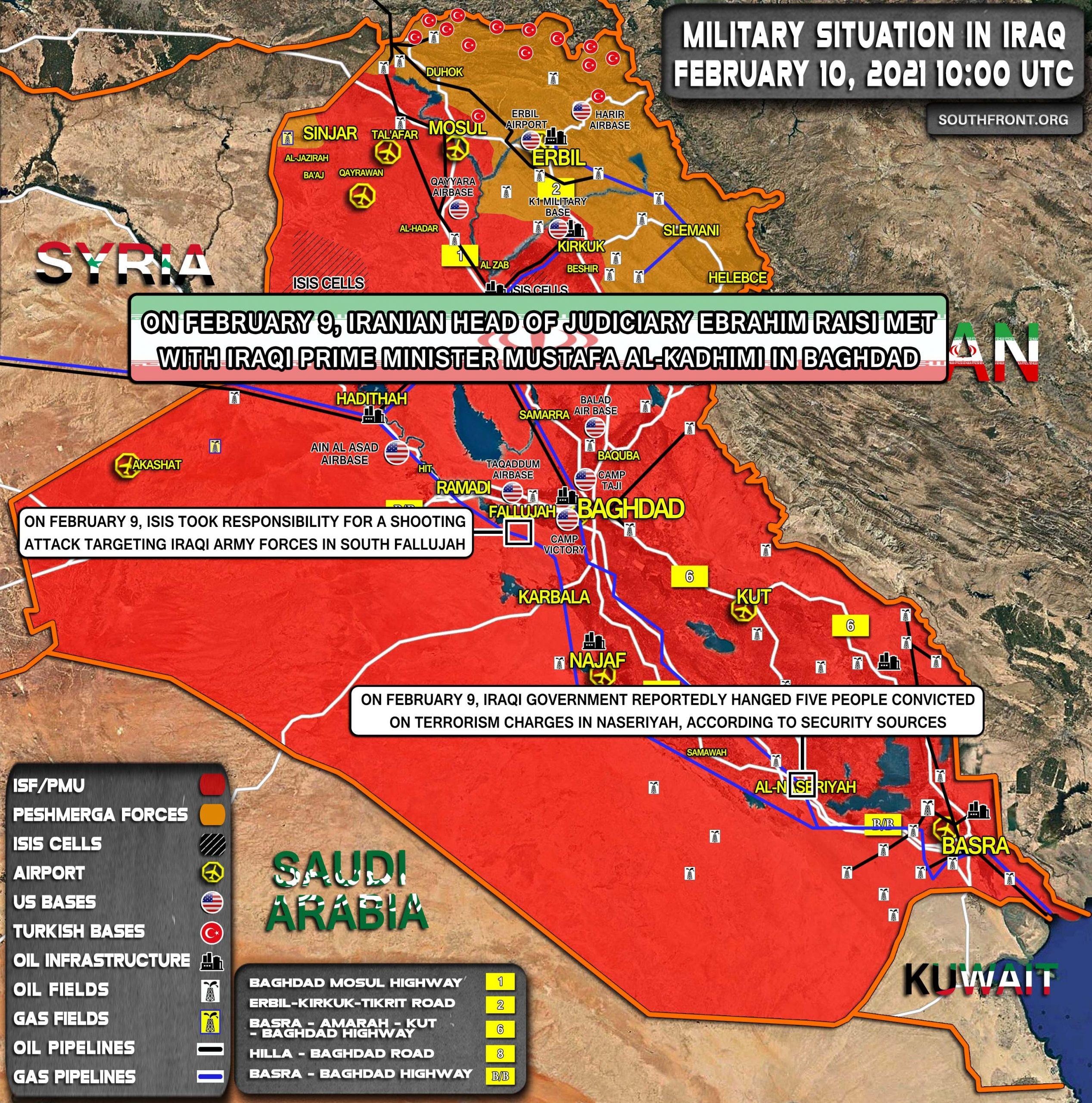 Grupo pro iraní se atribuye la responsabilidad de otro ataque al convoy estadounidense en Irak