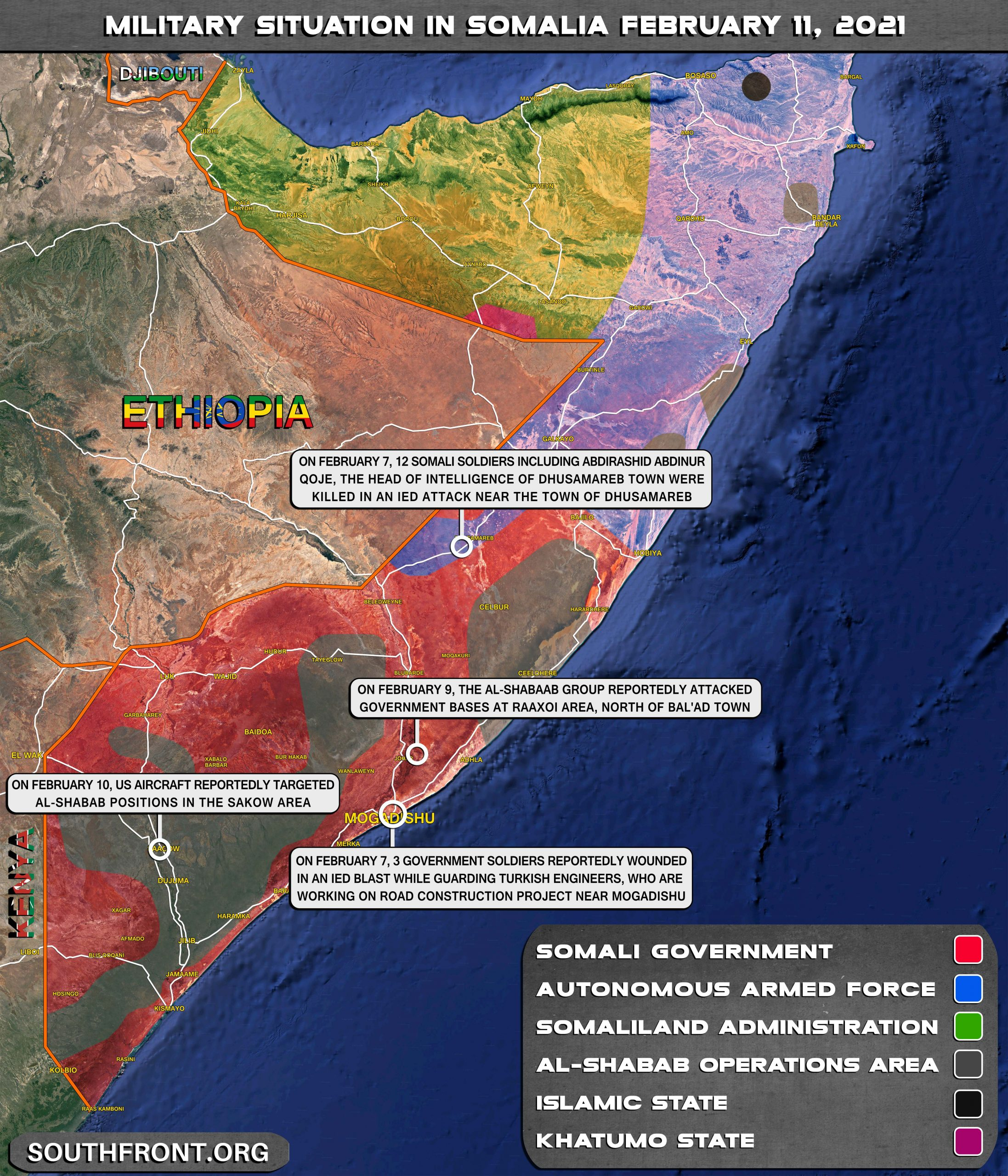 Chaos In Somalia Deepens, As 12 Die In Roadside Bomb, Election Fails To Take Place