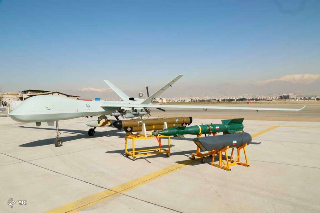 Iran Unveils New Combat Drone With 3,000 Km Range (Photos)