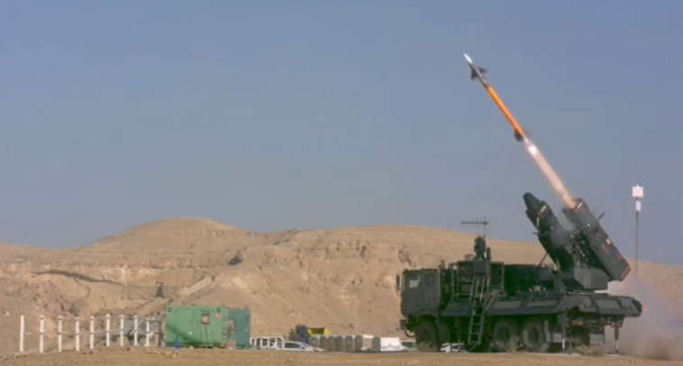 Israel Completes Tests Of Ground-Based Air Defense Version Of I-Derby ER Missile With 100 Km Range