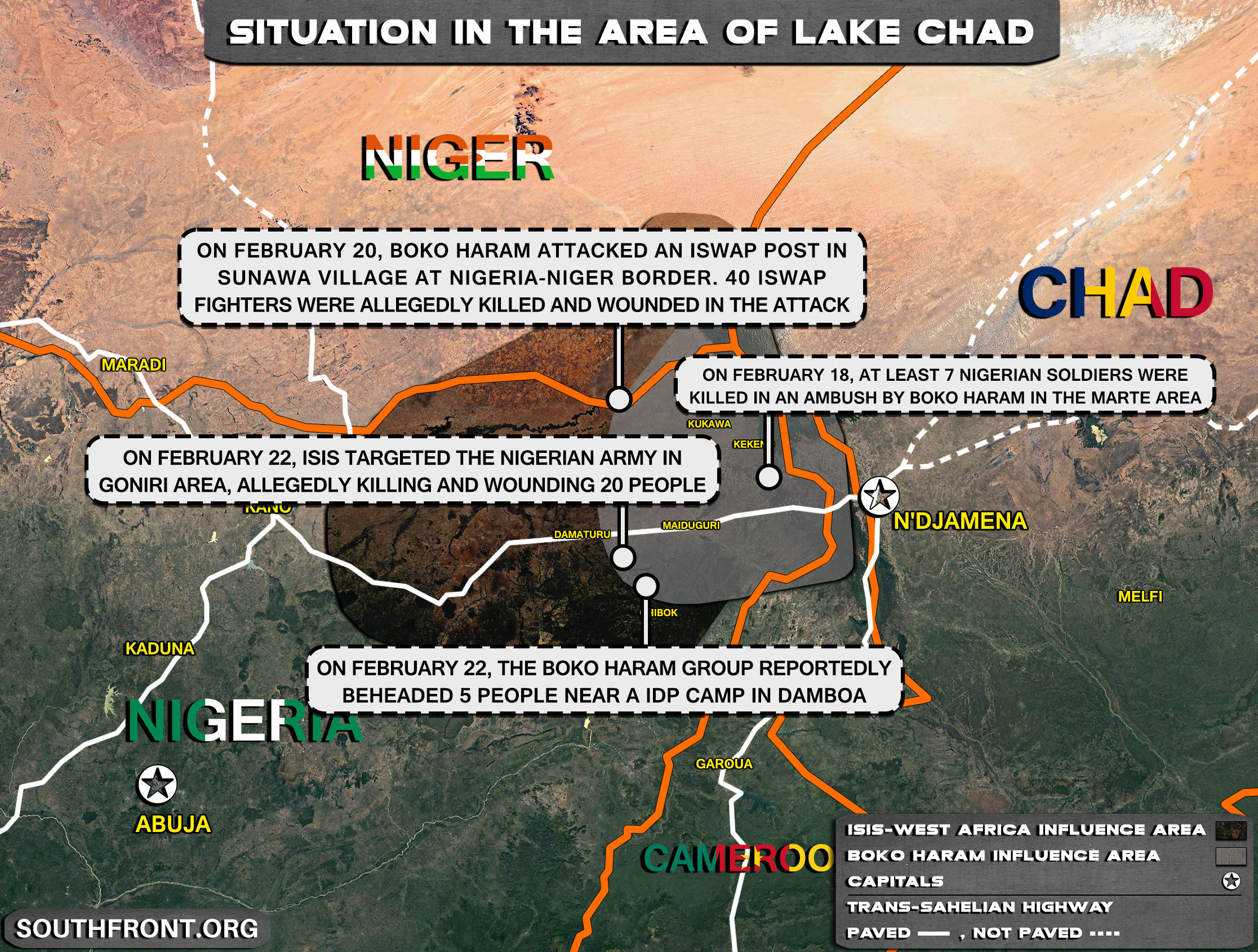 Boko Haram Clashes With ISIS In West Africa For Superiority Around Lake Chad