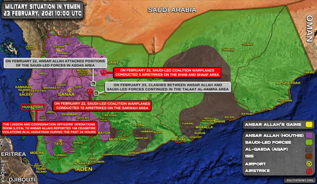 Saudi-backed Forces Launch Counter-Attack Near Yemeni City Of Marib (Videos, Map)
