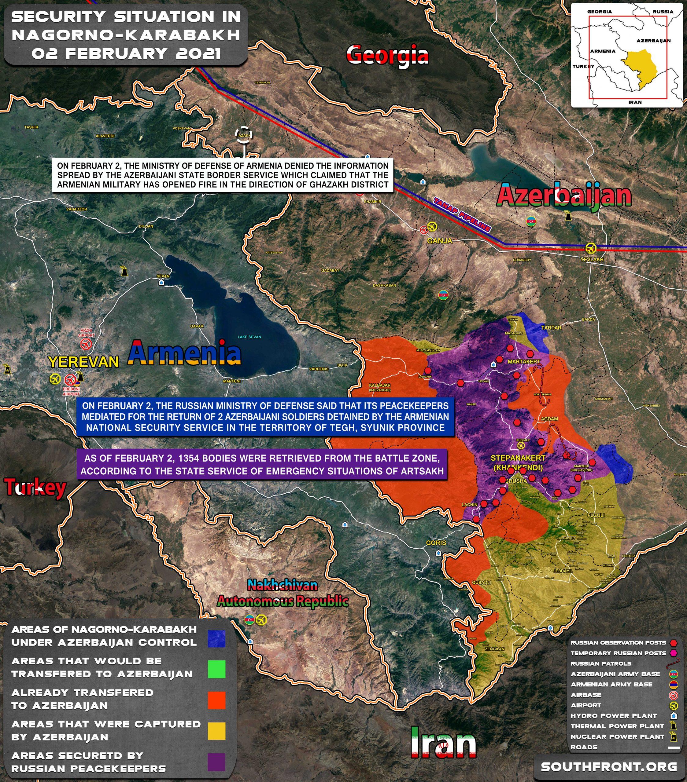 Russian Peacekeepers Return Azerbaijanis Detained In Syunik Province, Azer-Turkish Winter Exercise 2021 Begins