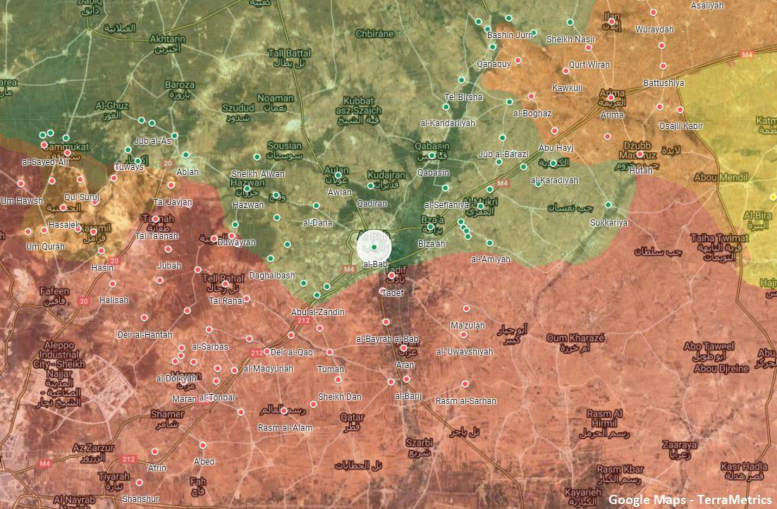 Syrian Army Deploys Reinforcements Near Turkish-Occupied Al-Bab In Northern Aleppo