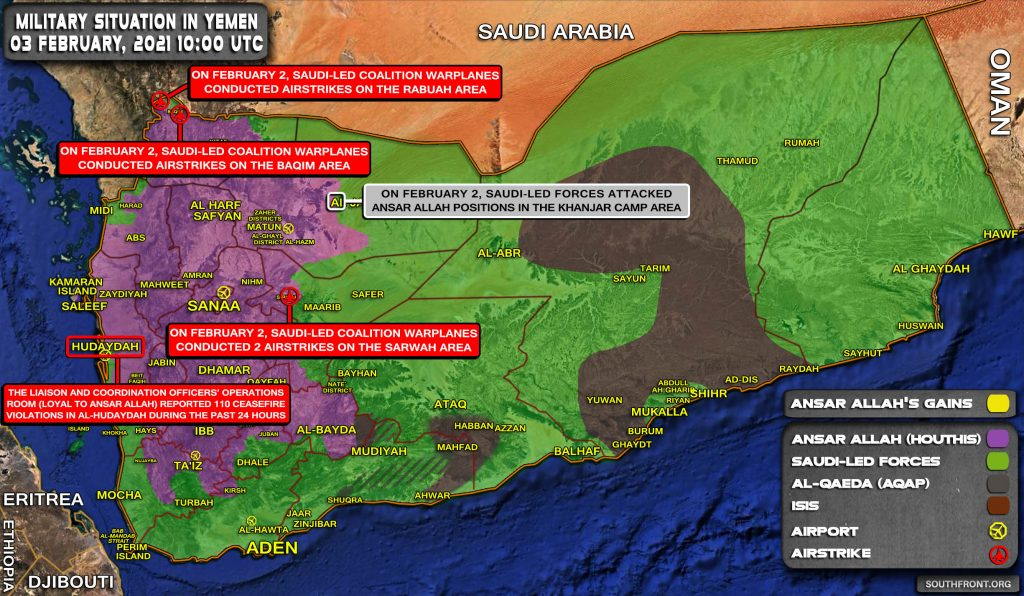 Houthis Vow To Carry Out More Strikes In Response To Saudi Blockade (Map Update)
