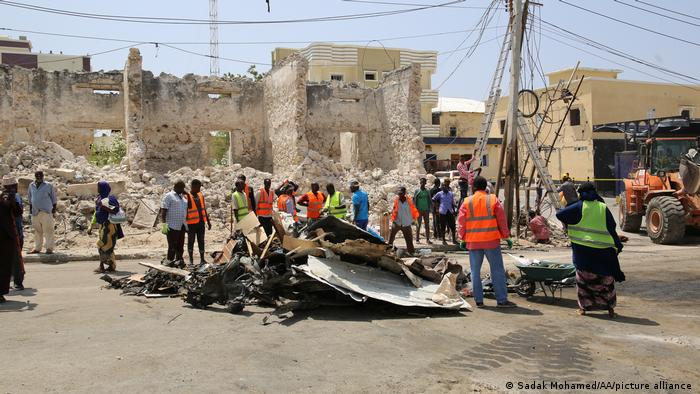 At Least 3 Dead In Car Bomb Attack On Somalian Parliament Building Compound (Map Update)