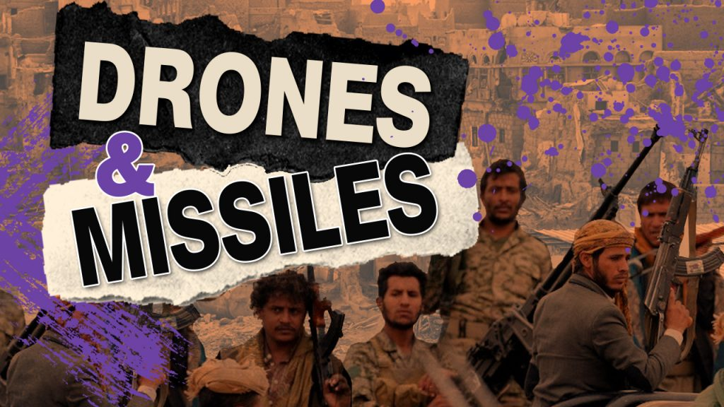 Houthi Drones Once Again Pound Targets In South Of Saudi Arabia