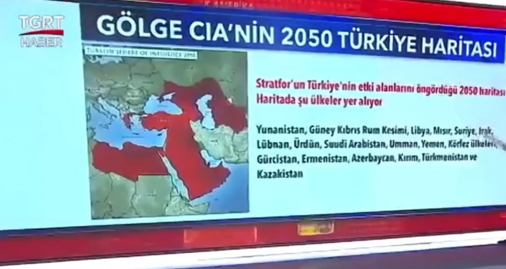 Wet Dreams Of Space Sultan: Turkey Plans To Seize Large Parts Of Greater Middle East, Europe, Caucasus, Russia By 2050