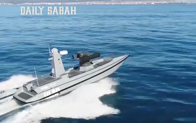Turkey's 1st Armed Unmanned Surface Vehicle Started Sea Trials (Video)